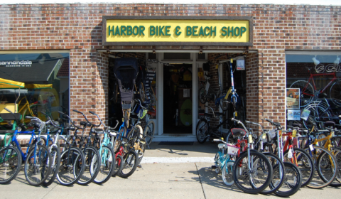Harbor Bike and Beach Shop Exterior